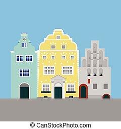 κτίριο , διαμέρισμα , αδέλφια , πόλη , architecture., ταξιδεύω , riga , τρία , εξοχή , λατβία , διακριτικό σημείο , sightseeing., εικόνα