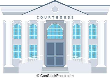 κτίριο , διαμέρισμα , δικαστήριο , εικόνα