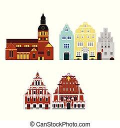 κτίριο , διαμέρισμα , πόλη , architecture., ταξιδεύω , riga , διακοπές , εξοχή , λατβία , διακριτικό σημείο , κόσμοs , εικόνα , επίσκεψη στα αξιοθέατα
