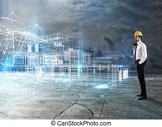 κτίριο , εξέχω , επιχειρηματίας , αρχιτέκτονας , αναλύω