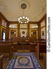 κτίριο , ιστορικός , 2 , αίθουσα δικαστήριου