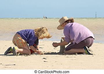 κτίριο , μικρόκοσμος , όχι , σειρά , 1 , sandcastles