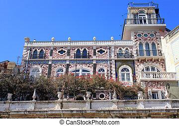 κτίριο , alfama , πορτογαλία
