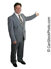 κτηματομεσίτης , businessman 1 , ή , ολοκληρώνω
