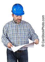 κυανοτυπία , δομή δουλευτής , κράτημα