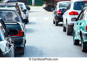 κυκλοφορία , άμαξα αυτοκίνητο , πελτέs , δρόμοs