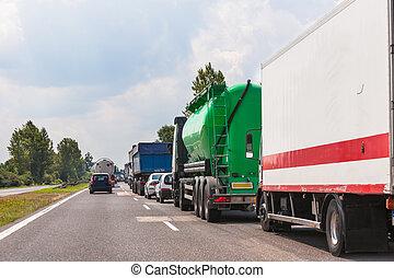 κυκλοφορία , αναμονή , τιμωρία σε μαθητές να γράφουν το ίδιο πολλές φορές , πελτέs , highway., άμαξα αυτοκίνητο