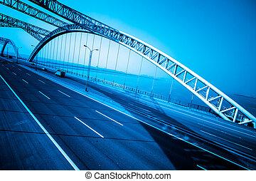 κυκλοφορία , γέφυρα