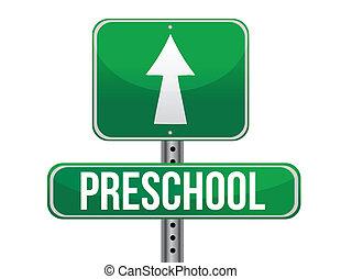 κυκλοφορία , προσχολικός , δρόμος αναχωρώ