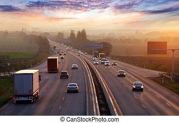 κυκλοφορία , cars., εθνική οδόs