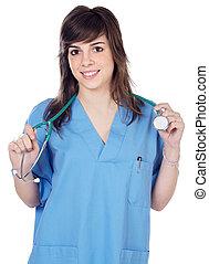 κυρία , γιατρός
