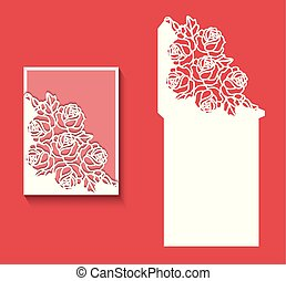 κόβω , λέηζερ , card2.eps, πρόσκληση , φάκελοs , φόρμα , γάμοs