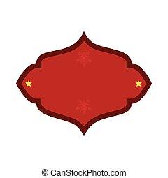 κόκκινο , σήμα , διακόσμηση