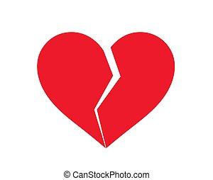 κόκκινο , icon., αγάπη αθετώ