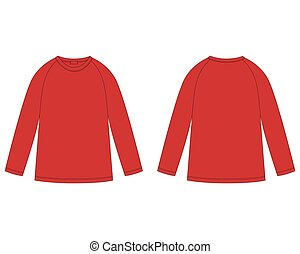 κόκκινο , sweatshirt., πίσω , άπειρος , αντιμετωπίζω , πυτζάμα , τεχνικός , ρεγκλάν , δραμάτιο , ανέμελος , wear., αντίκρυσμα του θηράματοσ. , template., σχεδιάζω