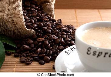 κόκκοι καφέ