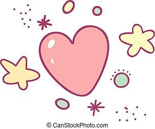 κόκκος , καρδιά , μικροβιοφορέας , γελοιογραφία , αστέρας του κινηματογράφου