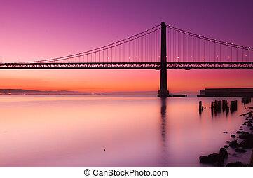 κόλπος γέφυρα , san francisco , california.