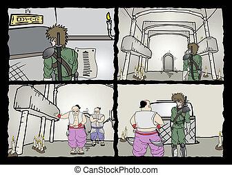 κόμικς , σελίδα
