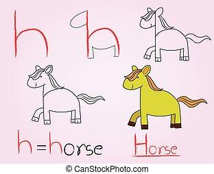 κόμικς , h , αλφάβητο