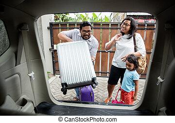 κόρη , οικογένεια , αυτήν , αποκτώ γρήγορος , γιορτή , ταξίδι