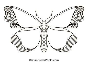 κόσμημα , όμορφος , butterfly.