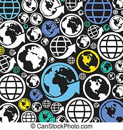 κόσμοs , ένα , φόντο