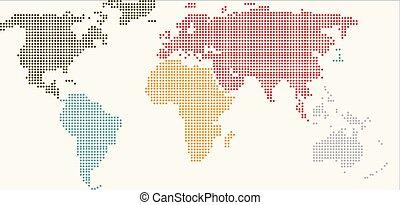 κόσμοs , διάσπαρτος , χάρτηs