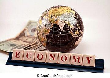 κόσμοs , καθολική οικονομία , επιχείρηση , εμπόριο