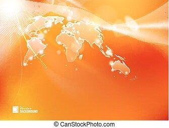κόσμοs , καθολικός , illustration., χάρτηs