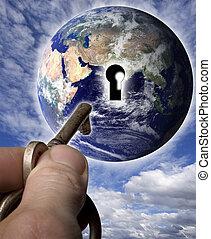 κόσμοs , κλειδί