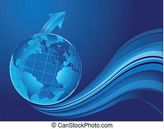 κόσμοs , μέσα , πρόοδοσ, εξέλιξη