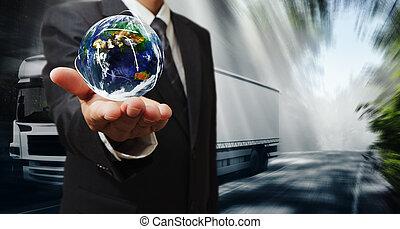 κόσμοs , μεταφορά