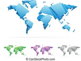 κόσμοs , μικροβιοφορέας , origami-style, χάρτηs