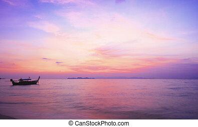 κόσμοs , περιβάλλον , ημέρα , concept:, ουρανόs , ηλιοβασίλεμα , φόντο
