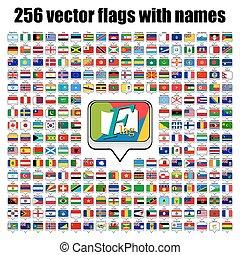 κόσμοs , σημαίες