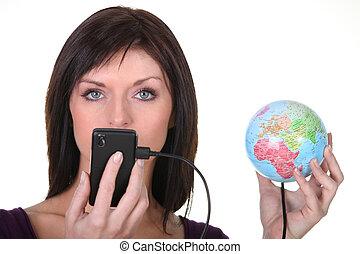 κόσμοs , συνδεδεμένος