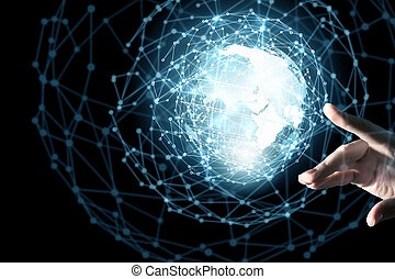κόσμοs , τεχνική ορολογία , συνδετικός
