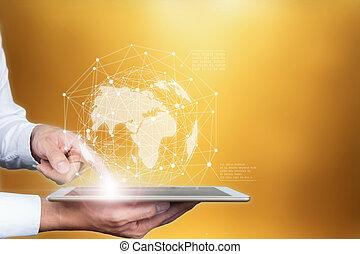 κόσμοs , τεχνική ορολογία , palm., συνδετικός