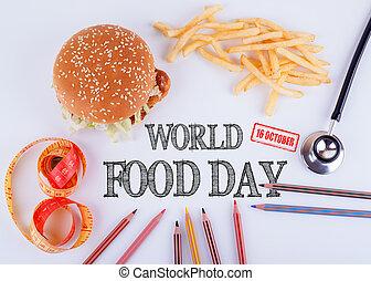 κόσμοs , τροφή , ημέρα , 16 , october., δυναμωτικός βουλή , τρόπος ζωής , σώμα , και , ψυχική υγεία , γενική ιδέα