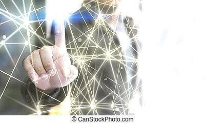 κόσμοs , connected., αφαιρώ , τεχνολογία , network.