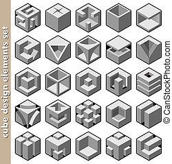κύβος , θέτω , μικροβιοφορέας , διάταξη κύριο εξάρτημα , 3d