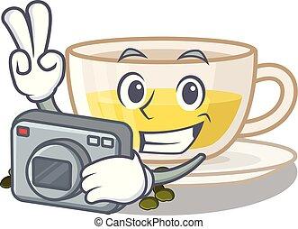 κύπελο , τσάι , σχήμα , oolong, φωτογράφος , γελοιογραφία