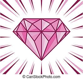 λάμπω , διαμάντι