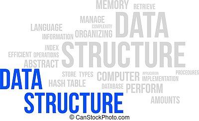 λέξη , σύνεφο , - , δεδομένα , δομή