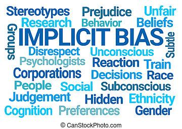 λέξη , σύνεφο , bias, implicit