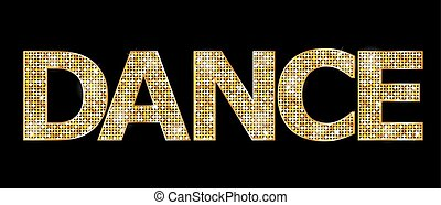 λέξη , 'dance', χρυσός