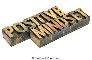 λέξη , mindset , αφαιρώ , θετικός , ξύλο , δακτυλογραφώ
