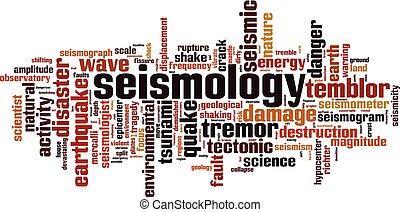 λέξη , seismology, σύνεφο