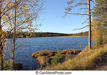 λίμνη , σουηδικά